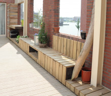 Roof Terrace (waste wood)
