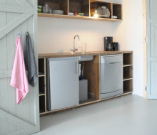 Kitchen (waste wood)