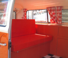 Volkswagon T2 – Interior