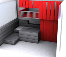 Child's Bed Playroom