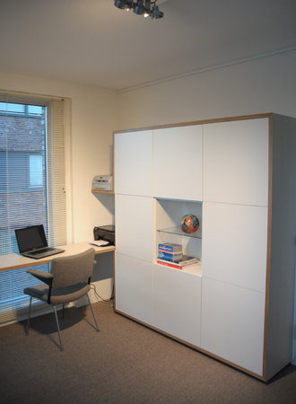 Klaas Design - studio kast bureau meubel
