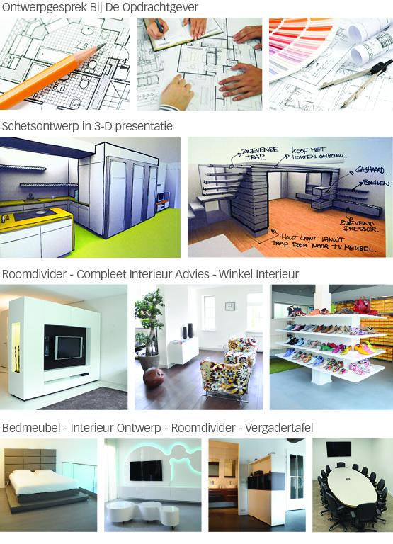 Interieur architect ontwerp