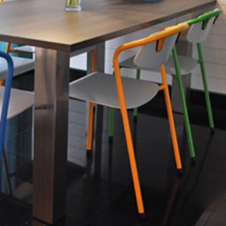Klaas Design - Eetafel + stoelen 2