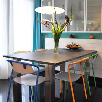 Klaas Design - Eettafel + stoelen