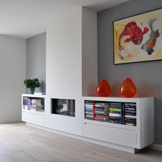 Klaas Design - Gashaard kast wandmeubel 1