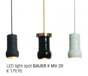 Klaas Design - BAUER # MV 20 - LED Light