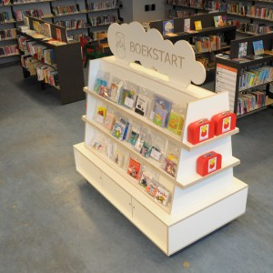 Klaas Design - Boekstart Library Book Case