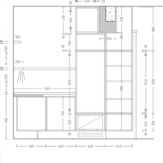 Klaas Design - keukenontwerp - technische uitwerking