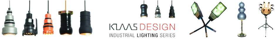 Klaas Design - Industrial Lighting Series