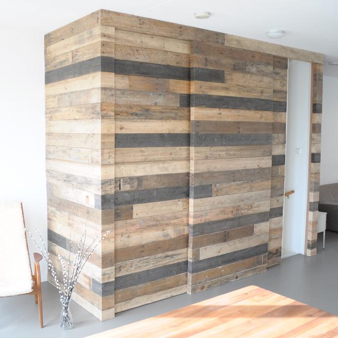 Klaas Design - Schuifdeur hergebruik hout