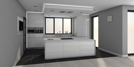 Klaas Design - Kitchen 3D Design